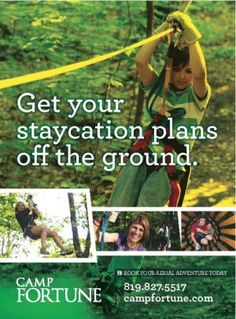 Aerial park and zip lines Gatineau Banquet Facilities, Staycation, Family Travel, Camping, Zip, How To Plan, Park, Family Trips, Campsite