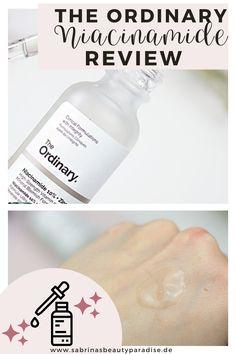 Review zum The Ordinary Niacinamide + Zink Serum. Alles was du über den Power Inhaltsstoff Vitamin B3 (bekannt aus Asien!) wissen musst. Niacinamide bringen Vorteile für jeden Hauttyp. #hautpflege #skincare #theordinary #niacinamide The Ordinary Niacinamide Review, Chemisches Peeling, Serum, Tips For Oily Skin, The Ordinary Skincare, Clinic, Vitamins, Make Up, Skin Care