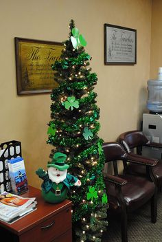 St. Patrick\'s Day Tree!