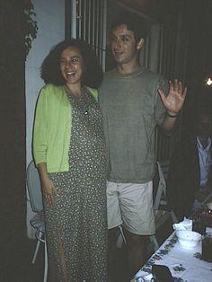 Mi primo Pablo con su esposa esperando bebe