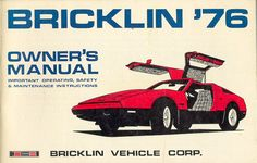 Old Cars Canada: 1974-1976 Bricklin SV-1
