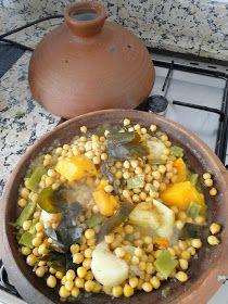 Mis Recetas Anticáncer: Tajine de verduras y garbanzos