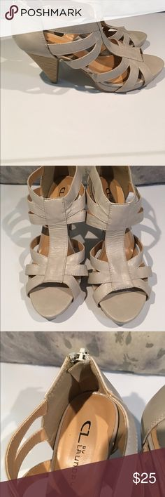 BNWOB Chinese Laundry sandals size 9.5 These are one of those amazing sale items that you regret that they are not your size!!!  Love love love them--they are too big for my daughter--but she HAD to have them!!! Size 9.5.  Bundle bundle bundle!!! Chinese Laundry Shoes Sandals
