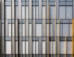 Image 21 of 32 from gallery of University of Birmingham's Library / Associated Architects. Photograph by Tim Cornbill Data Architecture, Office Building Architecture, Building Facade, Architecture Details, Business Architecture, Building Skin, Commercial Architecture, Cladding Design, Facade Design