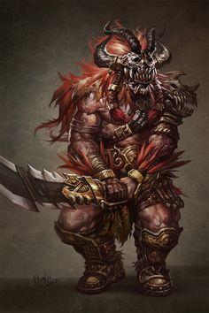 Skull barbarian swordsman artworks illustrations