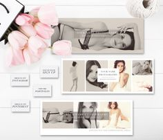 Boudoir Facebook Timelines (Set of 3) + FREE Matching App Icons - Boudoir Facebook Covers - Photography Templates - INSTANT DOWNLOAD! by ByStephanieDesign on Etsy