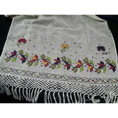 # Göznur handiwork of the # # otantikkaneviç to telkır Cross Stitch Embroidery, Hand Embroidery, Elsa, Photo Grid, Cross Stitch Borders, Eminem, Boho Shorts, Antiques, Runners
