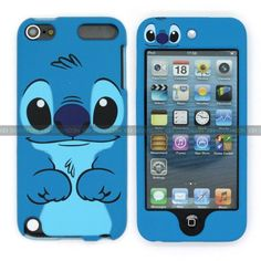Disney Lilo  Stitch Dual back & Front case cover for apple iPod Touch 5 5gen 5th