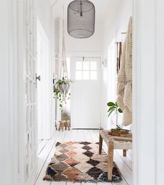 light filled entryway