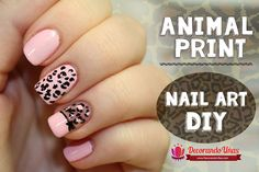 How to Make Nail Decals Inspirational Animal Print Nail Art Diy Cute Nail Art, Nail Art Diy, Diy Nails, Purple Nails, Matte Nails, Glitter Nails, Repair Broken Nail, Broken Nails, Nail Art For Beginners