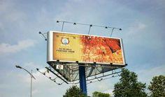 Một số công trình kết cấu thép biển quảng cáo phổ biến