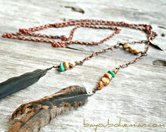 empressWARRIOR necklace no2 by bayoubohemian on Etsy, $28.00
