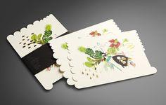 Beautiful stationery from K.W. Doggett & Ortolan