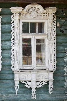Traditional window frame (Nalichnik) from Egoryevsk, near Moscow, Russia #11