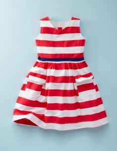 Cora would look stunning in this! #nautical, #girls dress, #striped dress