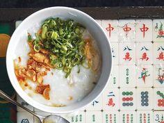 Filipino Rice Porridge with Chicken and Ginger (Arroz Caldo) Recipe | Saveur