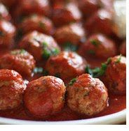 Turkey Meatballs in the crockpot- first time I've ever made meatballs and they turned out really well! Pretty simple recipe that didn't take very long to prep and then of course you forget about it in the crockpot for cooking!