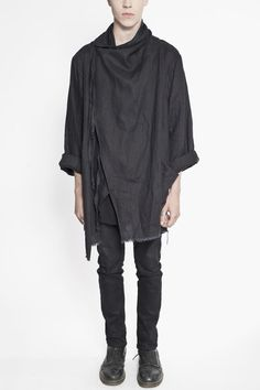 Visions of the Future: Draped Linen Jacket