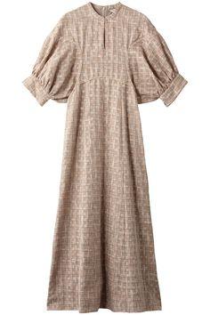 【クラネ/CLANE】のSEE-THROUGH CHECK ARM OP/ワンピース インテリア・キッズ・メンズ・レディースファッション・服の通販 founy(ファニー) ファッション Fashion レディース Women ワンピース Dress チェック ロング パーティ ピンク Casual Dresses, Fashion Dresses, Iconic Dresses, Modest Wear, One Piece Dress, Chic Dress, Muslim Fashion, Passion For Fashion, Women Wear