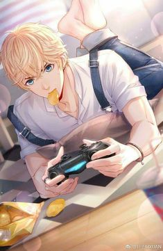Love and Producer Hot Anime Boy, Cool Anime Guys, Handsome Anime Guys, Kawaii Anime, Anime Oc, Fanarts Anime, Couple Amour Anime, Anime Love Couple, Badass Anime