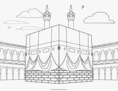 Islamic Coloring Pages Pdf Muslim Book Activities Art Mindful History — ObispaDodeJujuy Photo Ramadan, Al Isra Wal Miraj, Decoraciones Ramadan, Ramadan Crafts, Ramadan Tips, Islam For Kids, Islamic Art Pattern, Muslim Book, Islamic Paintings