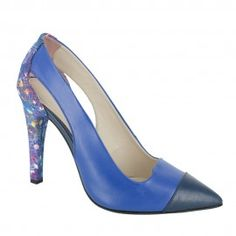 Pantofi HOYA albastru Stiletto Heels, Pumps, Shoes, Fashion, Choux Pastry, Moda, Shoes Outlet, Fashion Styles, Court Shoes