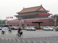 Tian'anmen Gate, Beijing - http://www.beijing-mega.com/tiananmen-gate-beijing/