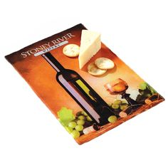 Full Color Cutting board TSC sku : 11073 The four color process imprint and textured surface combine to create a beautiful cutting board that will be enjoyed and used, again and again. Tempered glass with rubber feet. As low as $19.95