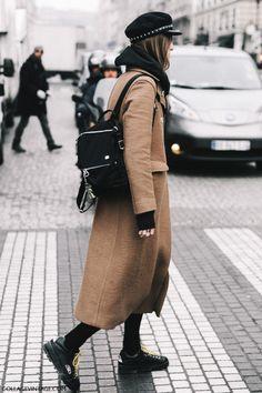 Street Style Paris Haute Couture   Collage Vintage