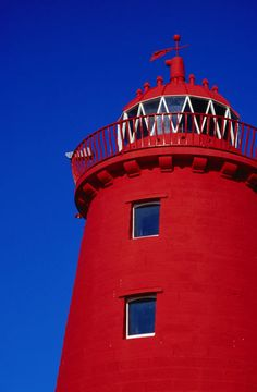 'Poolbeg Lighthouse at south wall breakwater.' by Lonely Planet Images (Dublin)