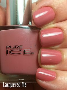 Pure Ice Taupe Drawer....one of my fav polishes