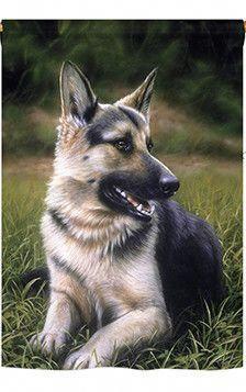 German Shepard 2 Sided Vertical Flag Beautifuldogs In 2020 Dog Photography Family German Shepard German Shepherd Dogs