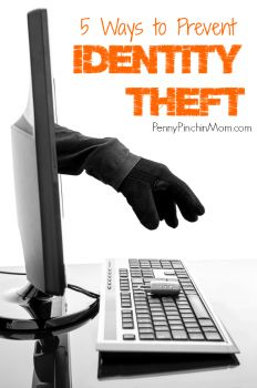 How to prevent identity theft   #online shopping #safety #consumer   www.pennypinchinmom.com