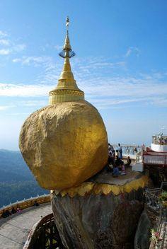 Rocher d'or, Myanmar