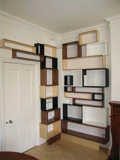 martino gamper designed bookcase - I love book cases that turn corners