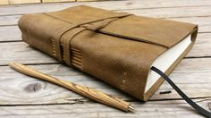 Tagebuch aus Leder Lederbuch Notizbuch von MyLittleDiary auf Etsy