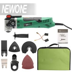 NEWONE Multi-Function Electric Saw Renovator Tool Oscillating Trimmer Home Renovation Tool Trimmer woodworking Tools #Affiliate
