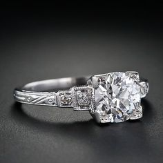 "vintage wedding ring, circa 1920's This is probably the first ring I've ever looked at and thought ""now that's beautiful"""