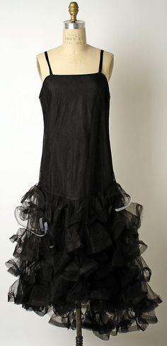 Jeanne Lanvin Robe de Style Fall/Winter 1926 -27 via The Costume Institute of The Metropolitan Museum of Art
