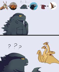 All Godzilla Monsters, Godzilla Comics, Godzilla Franchise, Godzilla Wallpaper, Dragon Artwork, Comic Movies, Cult Movies, Cute Dragons, Anime Furry