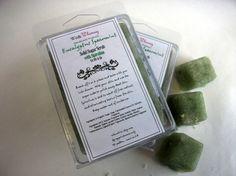 Eucalyptus Spearmint Solid Sugar Scrub with Spirulina by witnwhim, $5.00