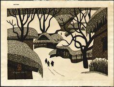 Saito, Kiyoshi (1907-1997) : Winter in Aizu