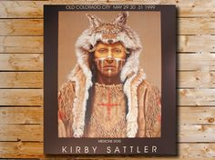 Native American Portrait Kirby Sattler Medicine by KirbySattlerArt