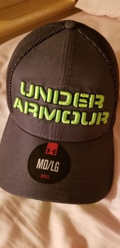 b1fcfcf6aad Under armour mens fitted hat MD LG  fashion  clothing  shoes  accessories