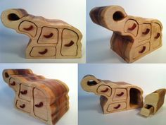 bandsaw box:  (Of course I like this one. It's nearly a critter box) Cute Elephant Band Saw Box!