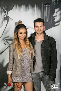 #TVD The Vampire Diaries Bloody Night Con Kat Graham(Bonnie) & Michael Malarkey(Enzo)