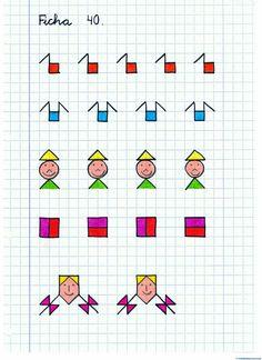Dibujos cuadriculados-Ficha-nº1