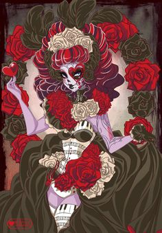 Day+Of+The+Dead+Operetta+by+meownyo.deviantart.com+on+@deviantART