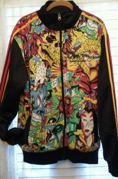 ED HARDY Christian Audigier JACKET TRUE TO MY LOVE. XL FREE S H 9629e347963