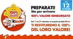Buoni sconto Kinder: rimborsa i tuoi acquisti al 100%! | Campioni omaggio gratuiti, Concorsi a premi, Buoni sconto - DimmiCosaCerchi.it